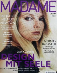 Bernhard Grassl Juwelier München Presse Madame 10/2020 Titel